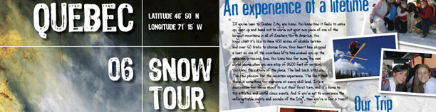Atlantic Sun Snow Tour Flyer