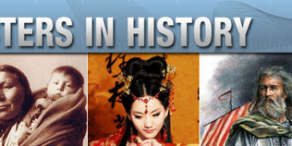Characters in History