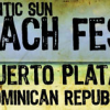Atlantic Sun Beach Fest Postcard