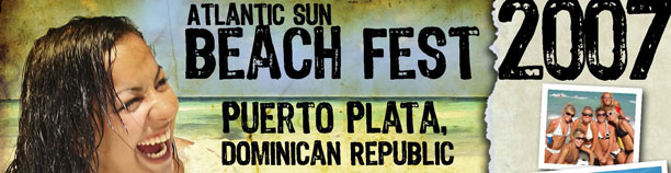 Atlantic Sun Beach Fest Postcard