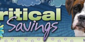 Critical Savings